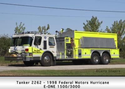 Fox Lake Fire Department Tanker 2262