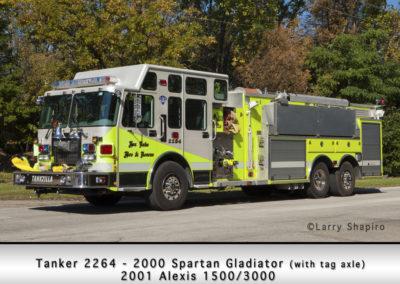 Fox Lake Fire Department Tanker 2264