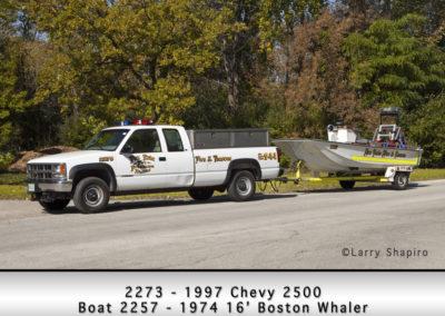 Fox Lake Fire Department 2273 & Boat 2257