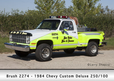 Fox Lake Fire Department Brush 2274