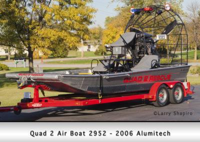 Fox Lake Fire Department Quad 2 Air Boat 2952