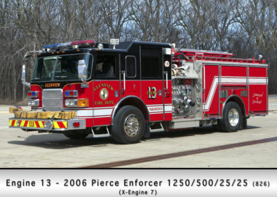 Glenview Fire Department Engine 13
