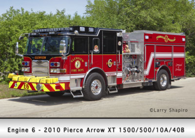 Glenview Fire Department Engine 6