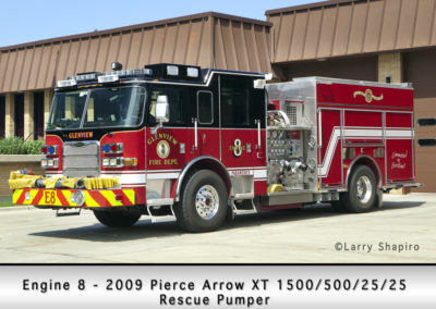 Glenview Fire Department Engine 8