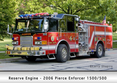Glenview Fire Department Engine 6R
