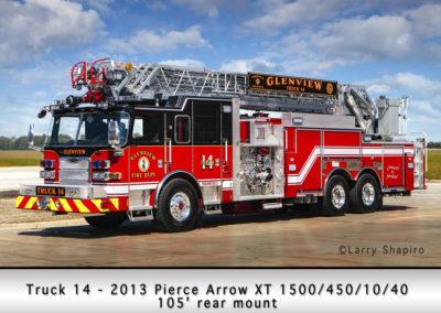 Glenview Fire Department Truck 14