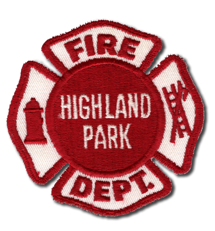 Highland Park Fire Department patch