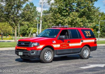 Highland Park Fire Department Battalion 33