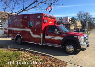 Park Ridge Fire Department Ambulance 36 - 2015 Ford F450/Horton Type I