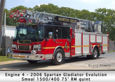 Morton Grove Fire Department Engine 4