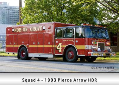 Morton Grove Fire Department Squad 4