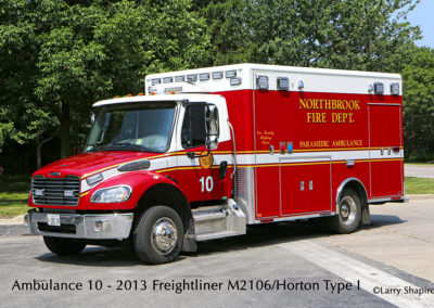 Northbrook Fire Department Ambulance 10