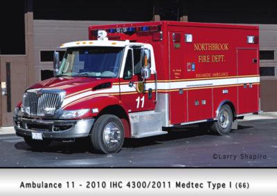 Northbrook Fire Department Ambulance 11