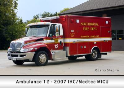 Northbrook Fire Department Ambulance 12