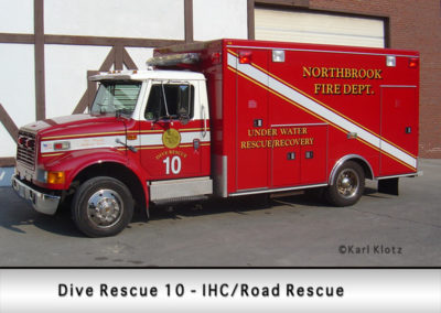 Northbrook Fire Department Dive Rescue 10