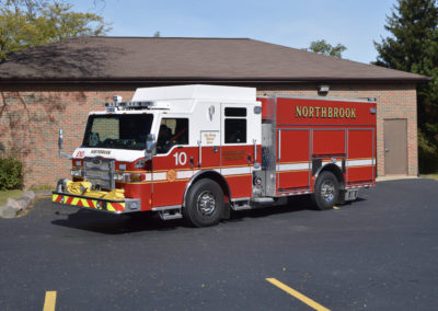 Northbrook Fire Department Engine 10