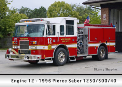 Northbrook Fire Department Engine 12