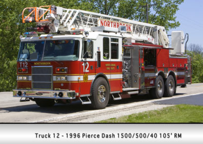 Northbrook Fire Department Truck 11R