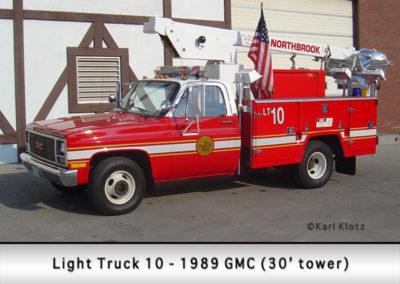 Northbrook Fire Department Light Truck 10