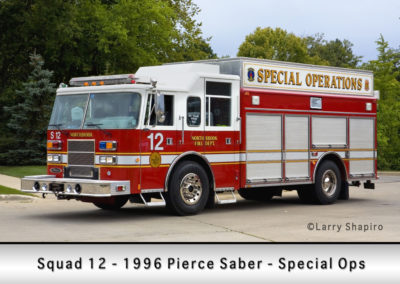 Northbrook Fire Department Squad 12