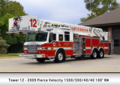 Northbrook Fire Department Tower 12