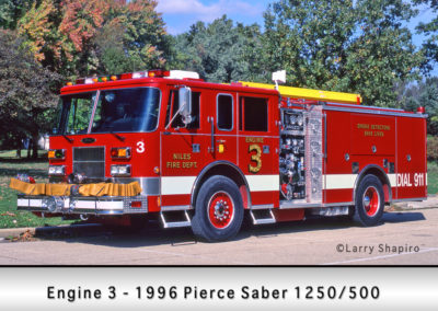 Niles Fire Department Engine 3R