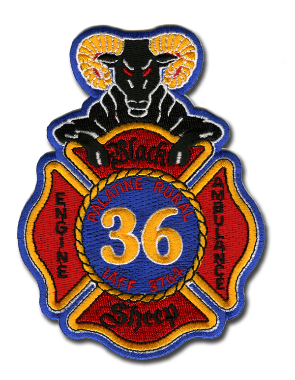 Palatine Rural Fire Protection District patch
