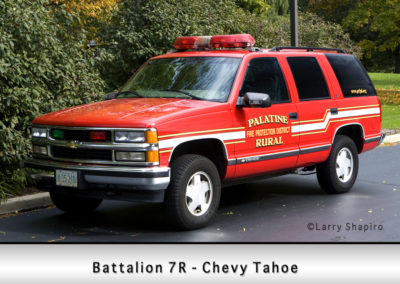 Palatine Rural Fire Protection District Battalion 7R