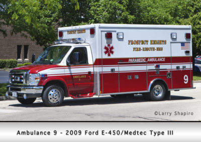 Prospect Heights Fire District Ambulance 9