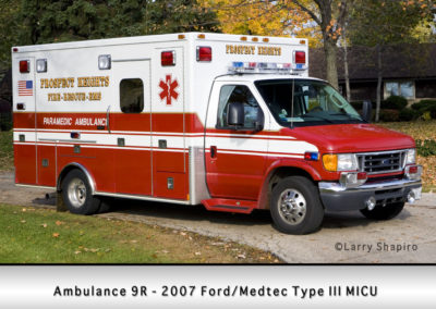 Prospect Heights Fire District Ambulance 9R