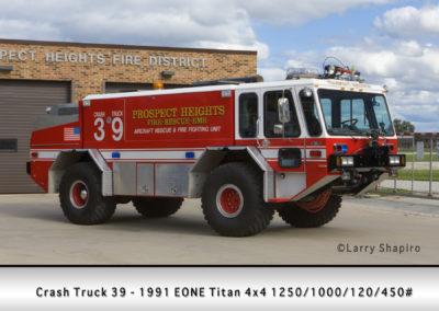 Prospect Heights Fire District Crash Truck 39