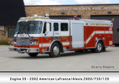 Prospect Heights Fire District Engine 39