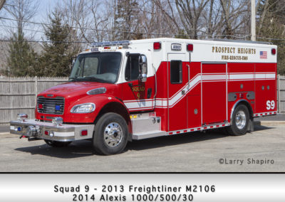 Prospect Heights Fire District Squad 9
