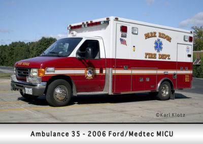 Park Ridge Fire Department Ambulance 36R