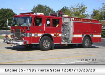 Park Ridge Fire Department Engine 35R