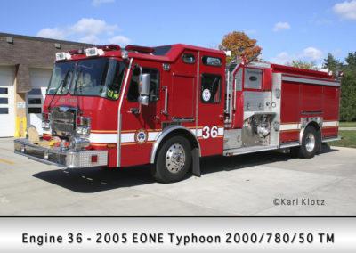 Park Ridge Fire Department Engine 35