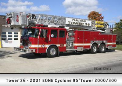 Park Ridge Fire Department Tower 36