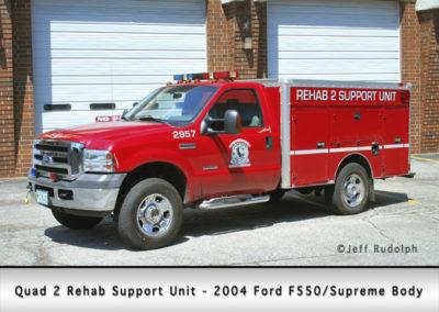 Antioch Fire Department Quad 2 Rehab Support Unit