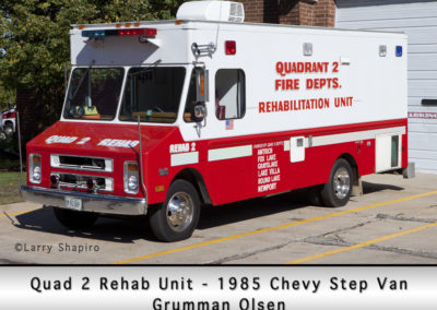 Antioch Fire Department Quad 2 Rehab Unit