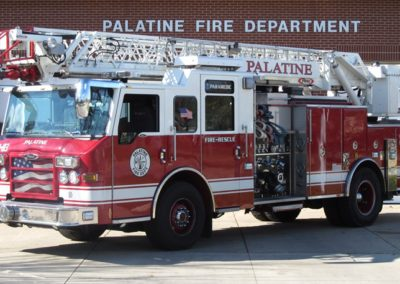 Palatine Quint 83 - 2009 Pierce Impel XM 1500/500 75' quint