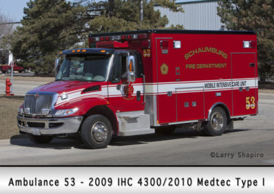 Schaumburg Fire Department Ambulance 53