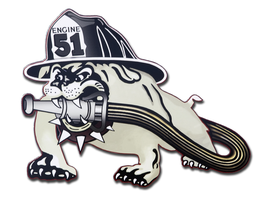 Schaumburg Fire Department Station 51 decal
