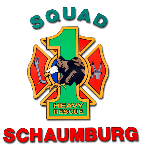 Schaumburg Fire Department Station 55 decal