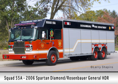 Schaumburg Fire Department Squad 55A
