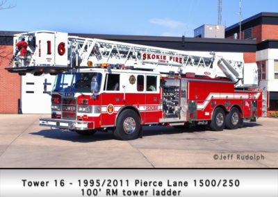 Skokie Fire Department Tower 17R