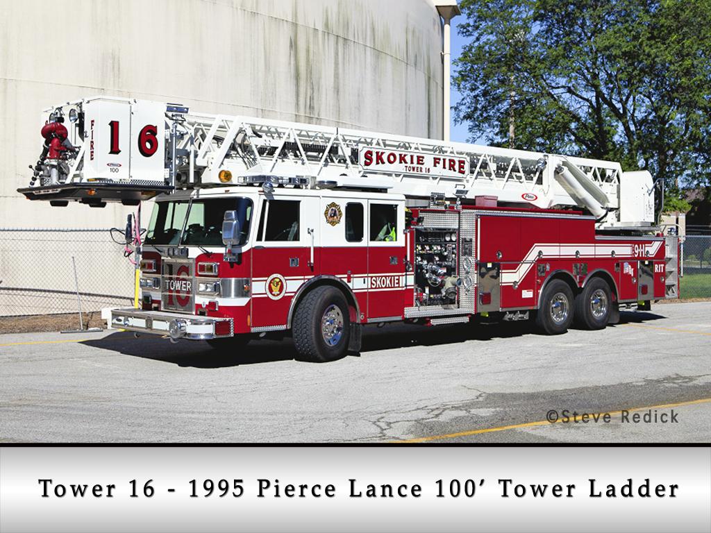 Skokie Fire Department Tower 16