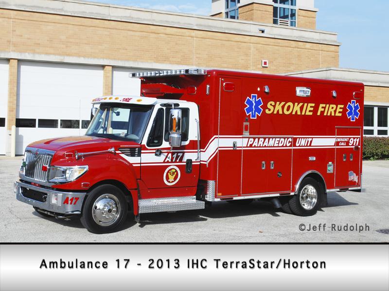 Skokie Fire Department Ambulance 17