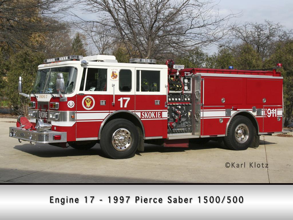 Skokie Fire Department Engine 17