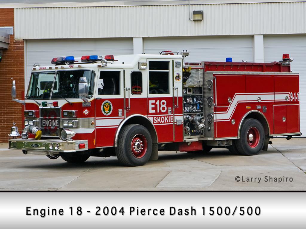 Skokie Fire Department Squad 18