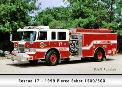 Skokie Fire Department Rescue 17